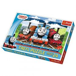 Thomas: Boldog mozdonyok 24 db-os Maxi puzzle