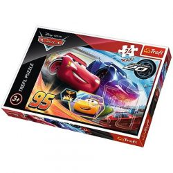 Verdák 3 Villám McQueen és Jackson Storm 24 db-os Maxi Puzzle