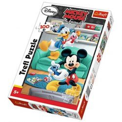 Mickey és Donald 100 db-os puzzle