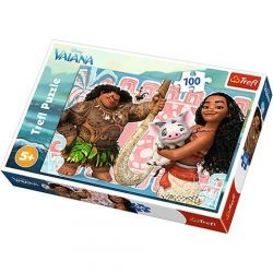 Vaiana hercegnõ és barátai 100db-os puzzle