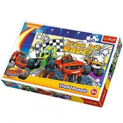 Blaze: Versenyre készen puzzle 100db-os