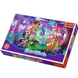 Enchantimals 100db-os puzzle -Trefl puzzle