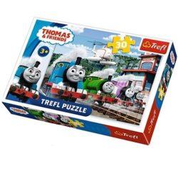 Thomas és barátai, Verseny a síneken 30db-os Puzzle