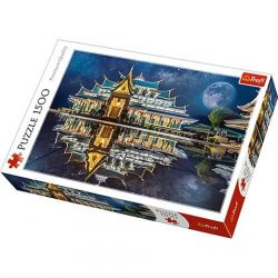 Wat Pa Phu Kon, Thaiföld 1500db-os prémium puzzle