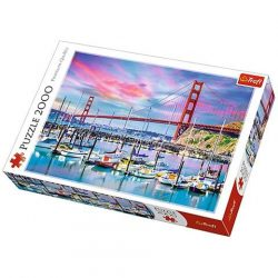 Golden Gate, San Francisco puzzle 2000db-os