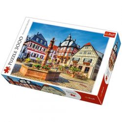 Heppenheim piactér 3000 db-os puzzle