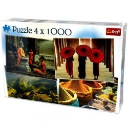 Ázsia 4x1000db-os puzzle