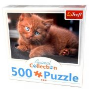 Animal Collection: Barna kiscica 500db-os puzzle