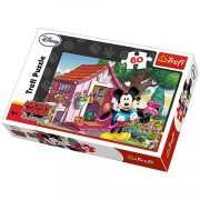 Mickey és Minnie a kertben 60 db-os puzzle