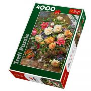 Virágok Erzsébet királynõnek 4000 db-os puzzle