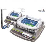Real Madrid Santiago Bernabeu Stadion 3D puzzle 160db-os