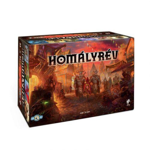 Homályrév gamer stratégiai társasjáték