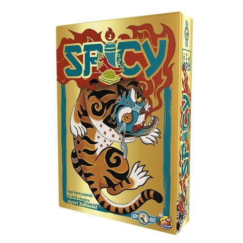Spicy családi stratégiai társasjáték