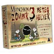 Munchkin Zombik 3 - Beteg helyek társasjáték