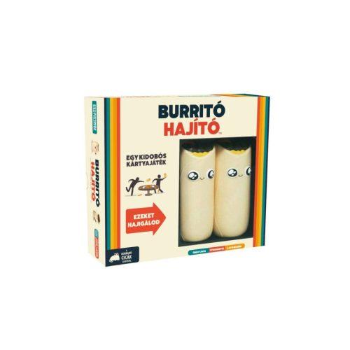 Burritó hajító extrém partijáték