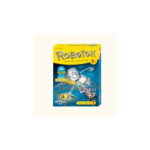 Robotok gyerek stratégiai társasjáték
