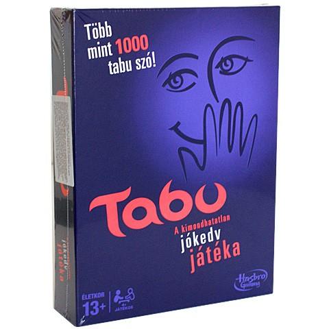 Tabu - A kimondhatatlan szavak játéka - új kiadás Hasbro